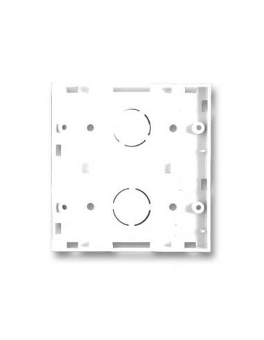 Base Jeluz Para 2 Modulos Blanco