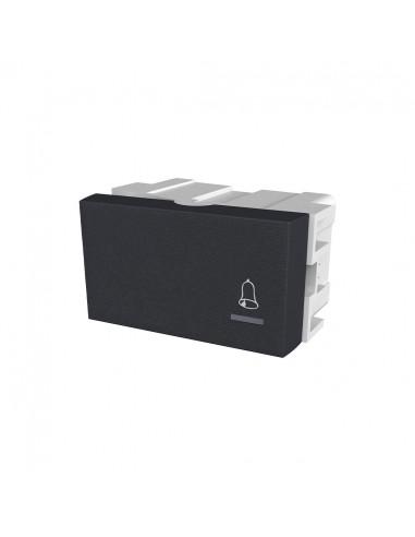 Modulo Platinum Pulsador Negro 10a