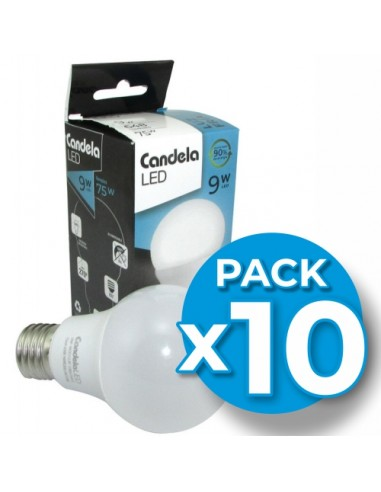 Lamp.led Clasica A60 9w Lc 3000k...